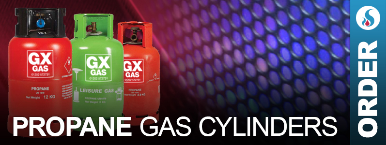 propane gas cylinder order Bournemouth, Poole, Christchurch and Dorset